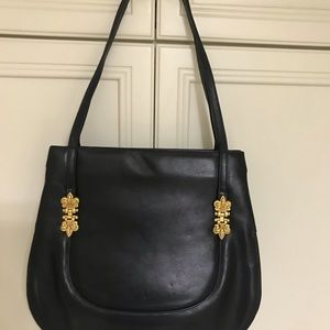 Black Vicenza tote made in Italy